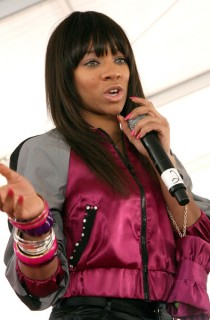 Lil Mama // K-Mart And Protege Basketball Block Party