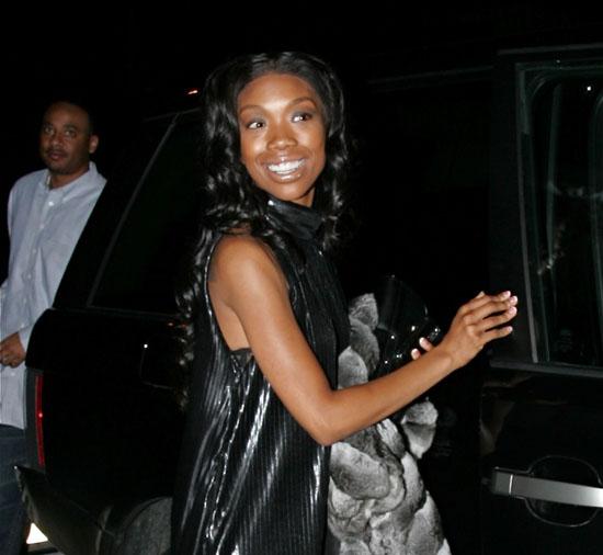 Brandy // Leaving Brandy's 30th Birthday in L.A.