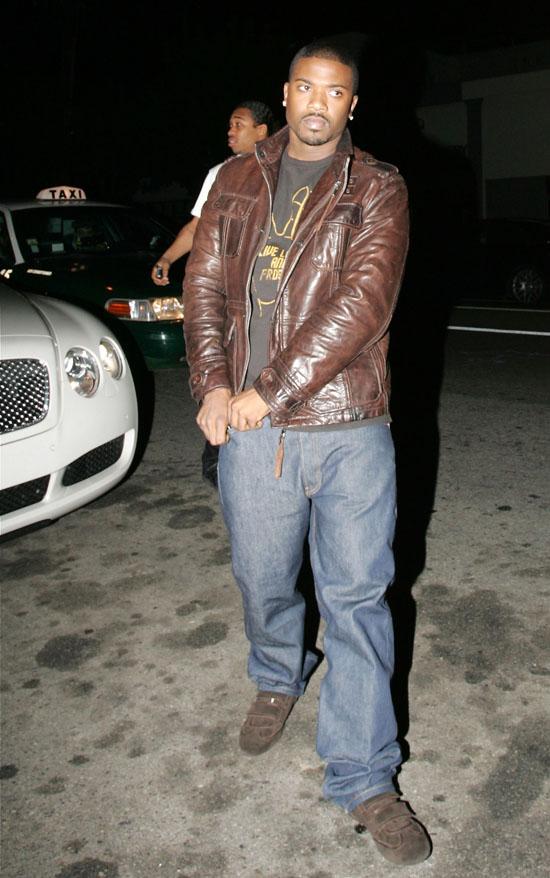 Ray J // Leaving Brandy's 30th Birthday in L.A.