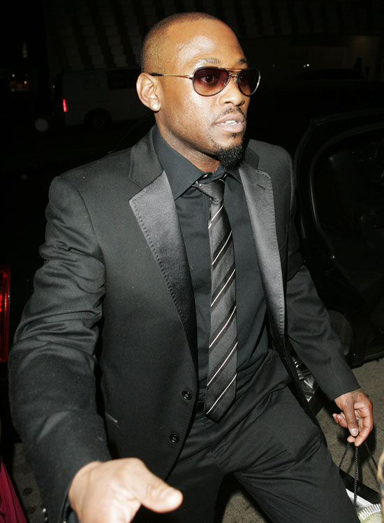 Omar Epps // Leaving Mr. Chow\'s (02.12.09)