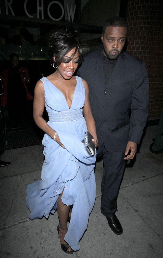 Tichina Arnold // Leaving Mr. Chow\'s (02.12.09)