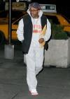 Spike Lee // Arriving at Knicks game
