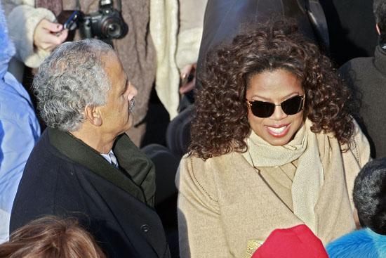 Oprah & Stedman // President Barack Obama's Inauguration