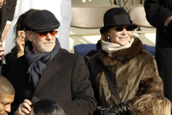 Steven Spielberg & (wife) Kate Capshaw // President Barack Obama\'s Inauguration