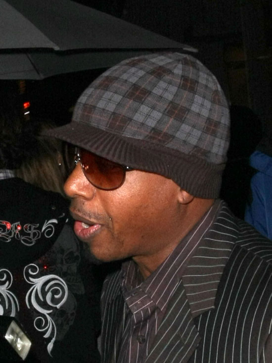 MC Hammer // Leaving Mr. Chow\'s (02.08.09)