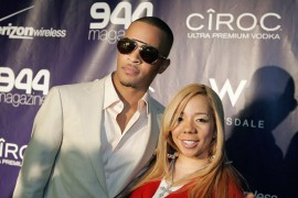 T.I. and Tiny // Ciroc Vodka Party at 944 for NBA All-Star Weekend 2009