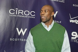 Terrell Owens // Ciroc Vodka Party at 944 for NBA All-Star Weekend 2009