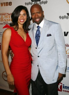 Kenny Smith & (wife) Gwendolyn Osborne // Ciroc Party for NBA All-Star Weekend 2009
