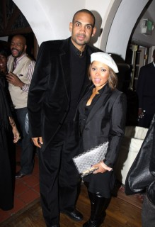 Grant Hill and Tamia // Ciroc Party for NBA All-Star Weekend 2009