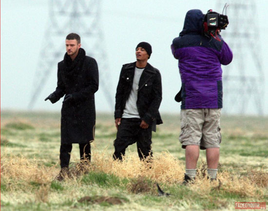 "T.I. & Justin Timberlake // On location for ""Dead and Gone"" music video"