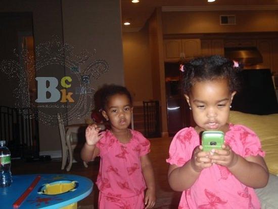 Diddy's Twin Girls: Jessie James & D'Lila Star