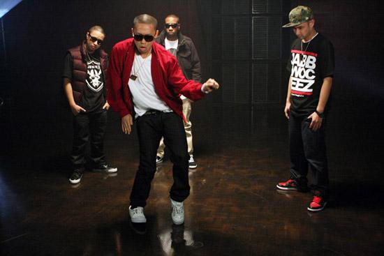 "The Jabbawockeez (America's Best Dance Crew) // ""Daydreamin"" music video shoot"
