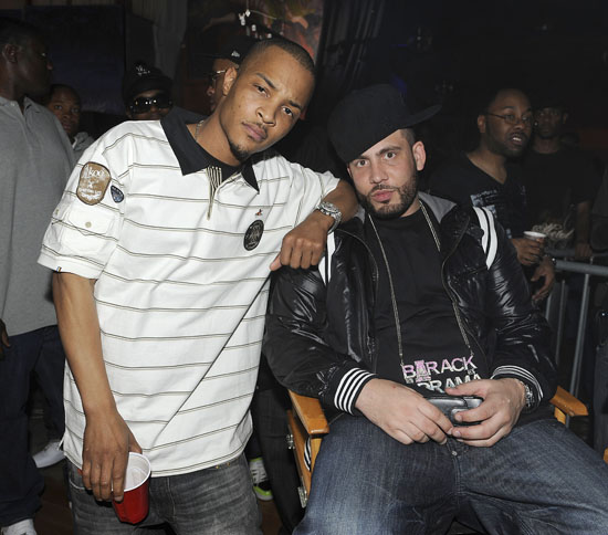 "T.I. and DJ Drama // ""Daydreamin\"" music video shoot"