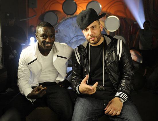 "Akon and DJ Drama // \""Daydreamin\"" music video shoot"
