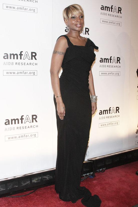 Mary J. Blige // amfAR event