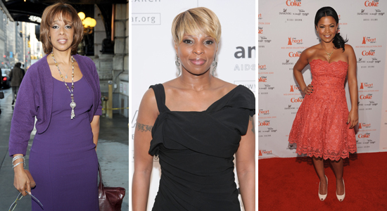 Gayle King // Mary J. Blige // Nia Long