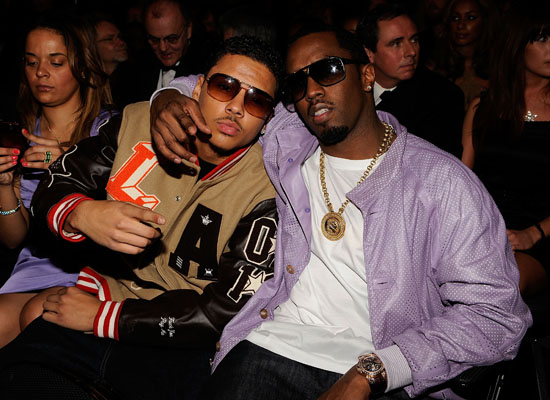 Diddy & his son Quincy // 2009 Grammy Awards (Audience)