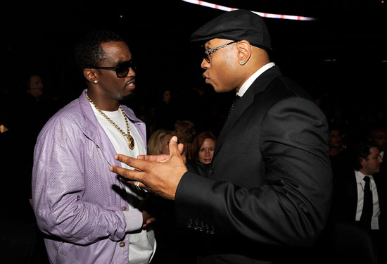Diddy & LL Cool J // 2009 Grammy Awards (Audience)