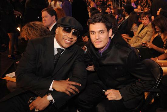 LL Cool J & John Mayer // 2009 Grammy Awards (Audience)