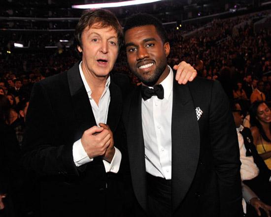 Paul McCartney & Kanye West // 2009 Grammy Awards (Audience)
