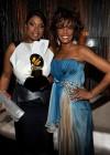Jennifer Hudson & Whitney Houston // 2009 Grammy Awards (Backstage)