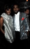Estelle & Kanye West // 2009 Grammy Awards (Backstage)