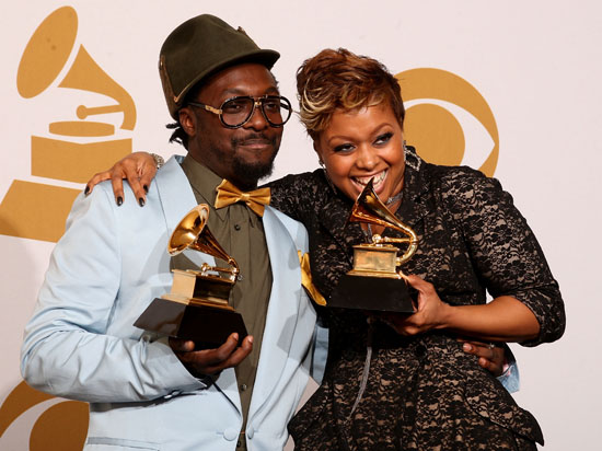 Anthony Hamilton & Chrisette Michele // 2009 Grammy Awards Press Room