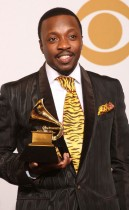 Anthony Hamilton // 2009 Grammy Awards Press Room
