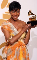 Natalie Cole // 2009 Grammy Awards Press Room