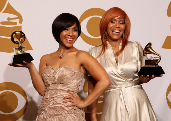 Mary Mary // 2009 Grammy Awards Press Room