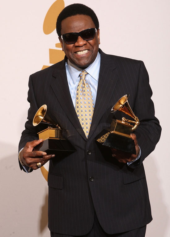 Al Green // 2009 Grammy Awards Press Room