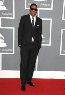 Jay-Z // 2009 Grammy Awards Red Carpet