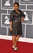 Chrisette Michele / 2009 Grammy Awards Red Carpet