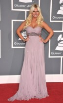 Brooke Hogan // 2009 Grammy Awards Red Carpet