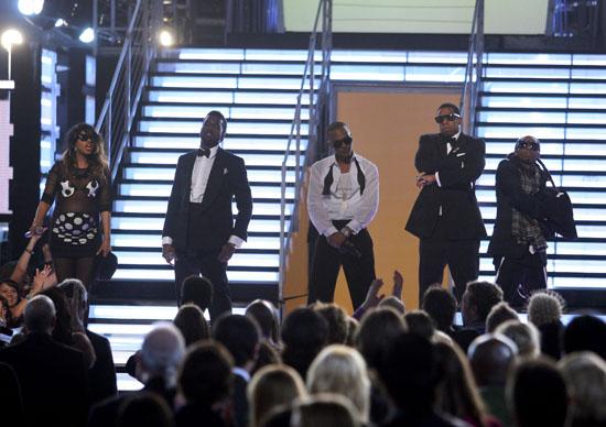 M.I.A., Kanye West, T.I., Jay-Z & Lil' Wayne // 2009 Grammy Awards Show