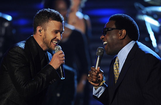 Justin Timberlake & Al Green // 2009 Grammy Awards Show