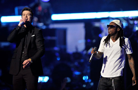 Robin Thicke & Lil\' Wayne // 2009 Grammy Awards Show