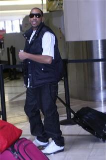 Ludacris at LAX Airport (Feb 23rd 2009)