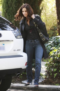 Halle Berry // Visiting a Friend at Platinum Equity in Beverly Hills