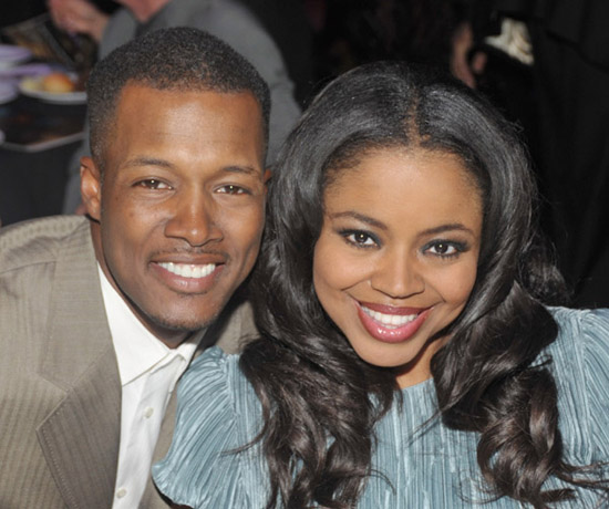 Flex Alexander & (wife) Shanice Wilson // 8th Annual Heroes In The Struggle Gala