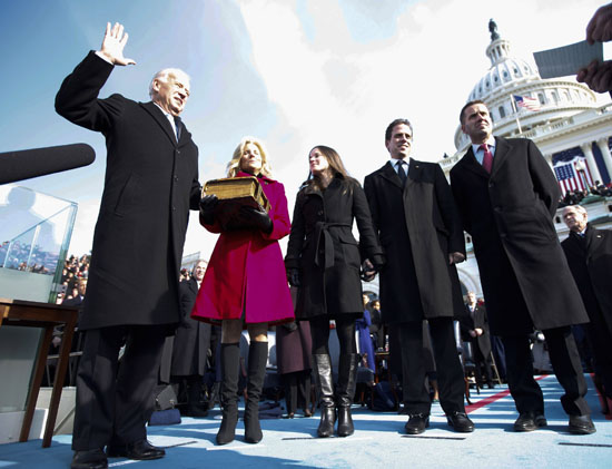 Vice President Joe Biden and Jill Biden // Inauguration \'09