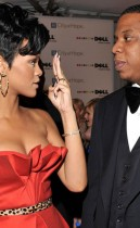 Jay-Z and Rihanna
