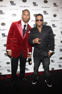 Juelz Santana & Bobby Valentino // Juelz Santana & Tim Thomas\' Birthday Bash in NYC