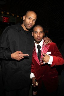 Vince Carter & Juelz Santana // Juelz Santana & Tim Thomas\' Birthday Bash in NYC