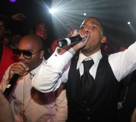 Ron Browz & Juelz Santana // Juelz Santana & Tim Thomas\' Birthday Bash in NYC