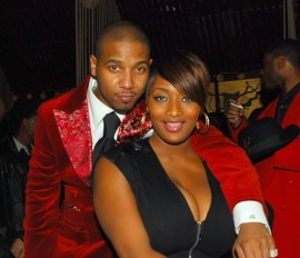 Juelz Santana & Toccara Jones // Juelz Santana & Tim Thomas\' Birthday Bash in NYC