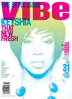 Keyshia Cole // March 2009 VIBE
