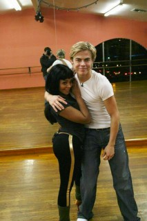 "Lil Kim and Derek Hough // Rehearsing for ""Dancing with the Stars"""