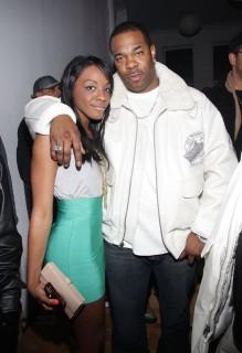 Dawn Richard & Busta Rhymes // King Magazine\'s 50th Issue Party