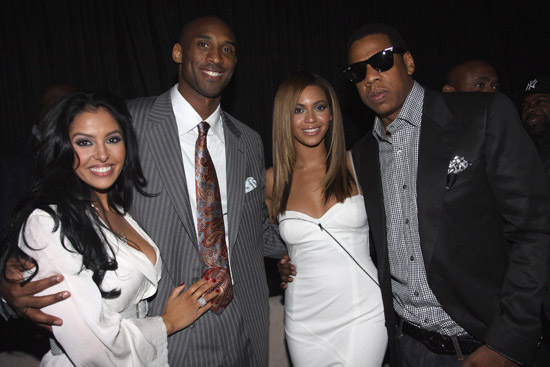 "Vanessa Bryant, Kobe Bryant, Beyonce and Jay-Z // ""Two Kings"" Dinner And After Party"